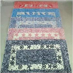 BATHMAT PRINTED STOCK