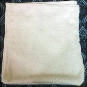 White Terry Towels Stock