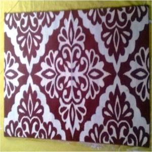Jacquard Latex backed  Bathmat Stock
