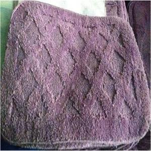 Designer Micro Cotton rubber backed  bathmat Stock