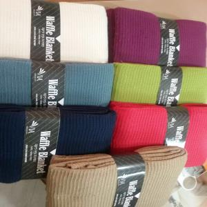 Cotton Blankets /Bed  Covers /Throws Stock