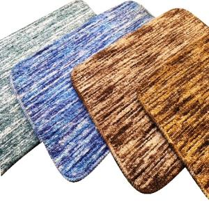 Micro Rubber Backed Bathmat with Space dyeing