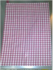 Gingham check Towel