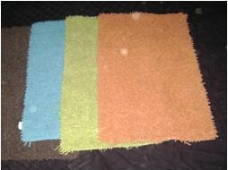 Cotton Chenille Shaggy bath mat