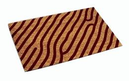 P.V.C Backed Coir Natural Printing Mat