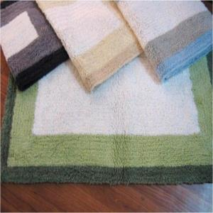 Reversible Plush Bath mat?