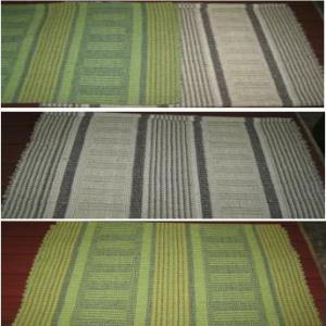 Cotton designer rug