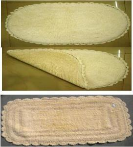 COTTON CROCHET BATHRUG