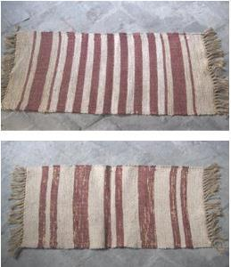 Cotton Blended Jute Rug