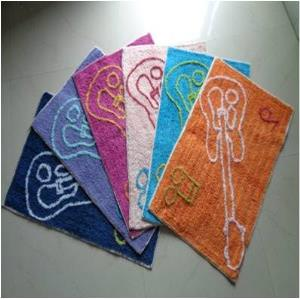 Cotton Designer Bathmat Stock