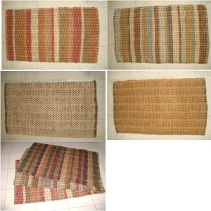 Jute Cotton Dyed Rug