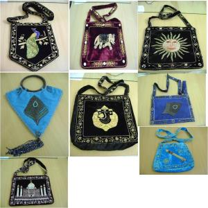 Embroiderd Shoulder Bag