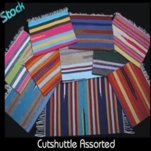 Cut Shuttle Cotton Rug