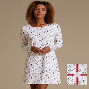 Ladies Printed Night Dress