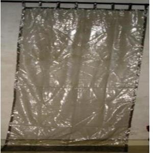 Polyester Wash Room Transparent Curtains
