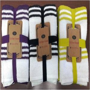 terry towel set stock
