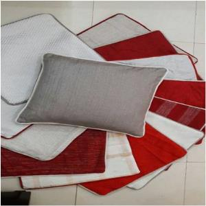 Christmas  Lurex Cushions Cover Stock