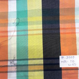 Mill Made Check Shirting Fabric